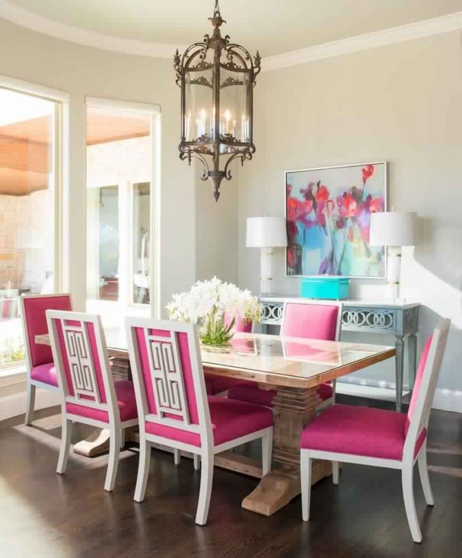 Dining-room-decor-for-summer-675x815 Top 10 Best Summer Decor Ideas for 2018