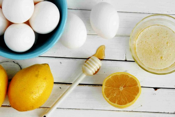 Egg-whites-and-lemon-juice-hair-mask-675x453 Top 10 Best Hair Masks for Color Treated Hair