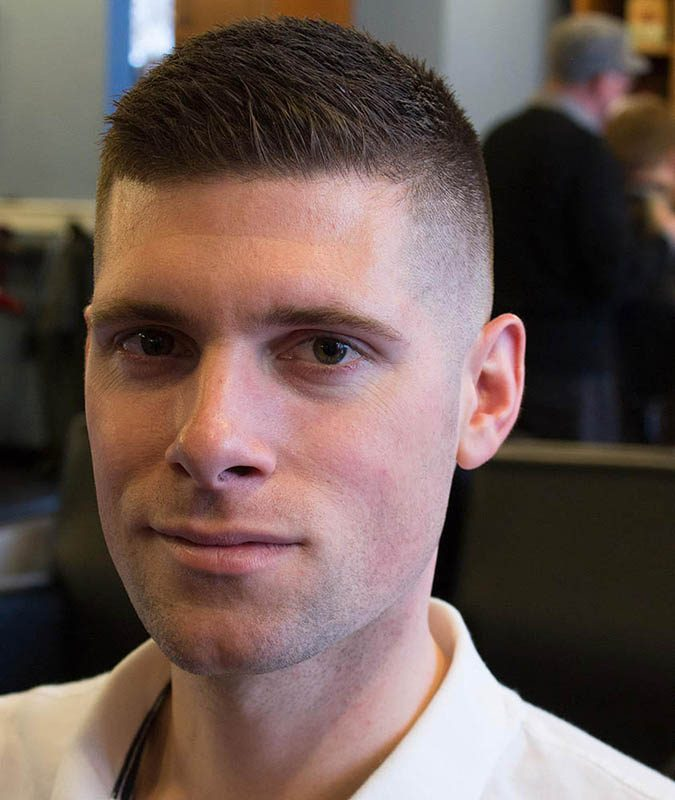 High-and-Tight-Buzz-Cut-men-haircut-675x800 6 Fashionable Hairstyles Every Man in His 30's Should Nail