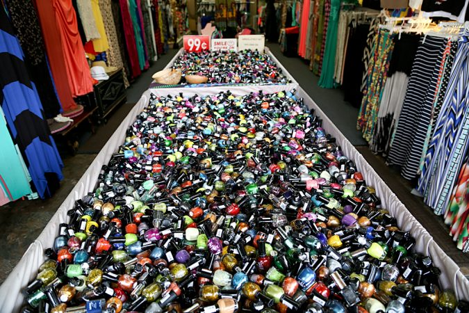 LA-Fashion-District-nail-polish-675x450 Top 10 Cool & Unusual Things to Do in Los Angeles