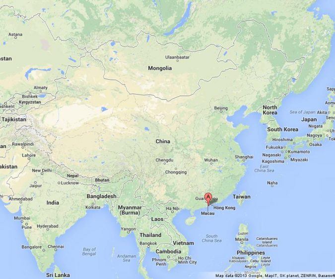 Macau-on-Map-of-China-675x563 Top 5 Debt-Free Countries in The World!