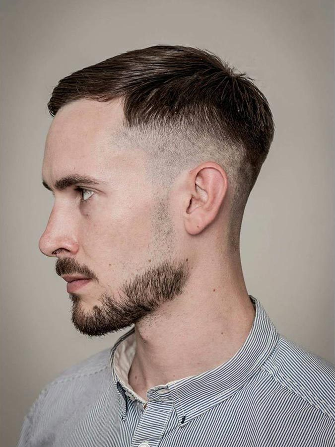 Modern-Pomp-Drop-Fade-side-sweep-drop-fade-men-hairstyle-675x900 6 Most Edgy Hairstyles For Men in 2018