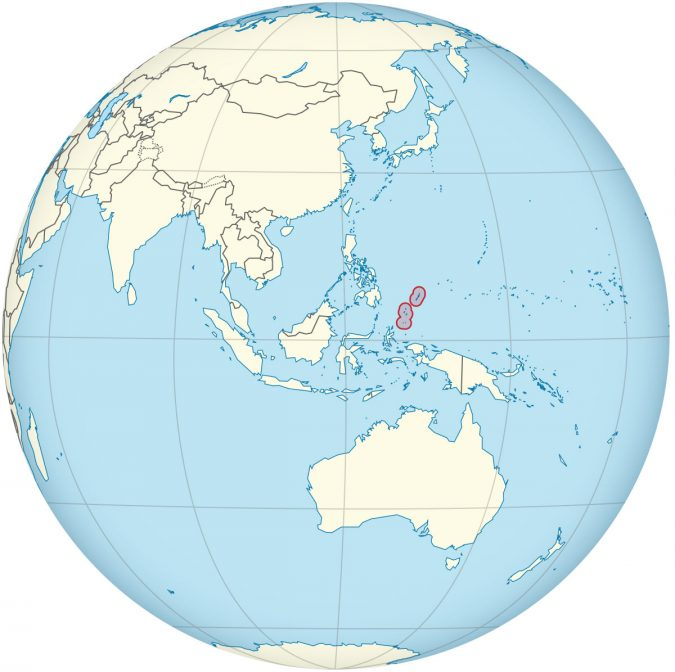 Palau-Islands-on-the-world-map-675x672 Top 5 Debt-Free Countries in The World!