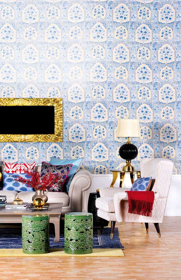 Patterns-indian-interior-design1 Top 10 Indian Interior Design Trends for 2018