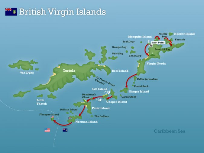 The-British-Virgin-Islands-map-675x506 Top 5 Debt-Free Countries in The World!