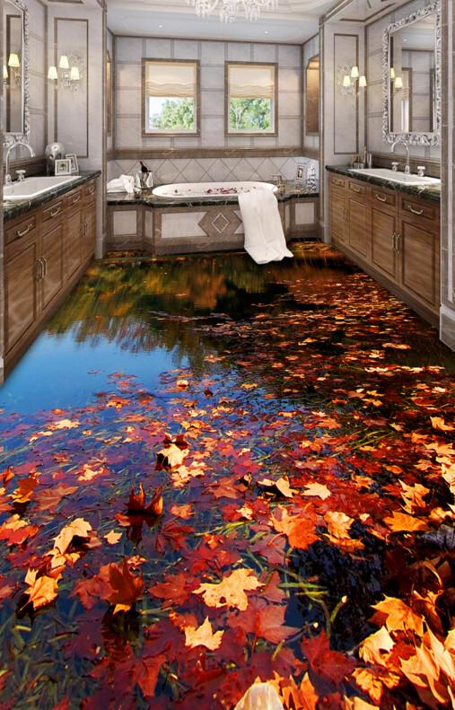 bathroom-with-3D-floor-wallpaper Complete Guide to Guest Blogging and Outreach