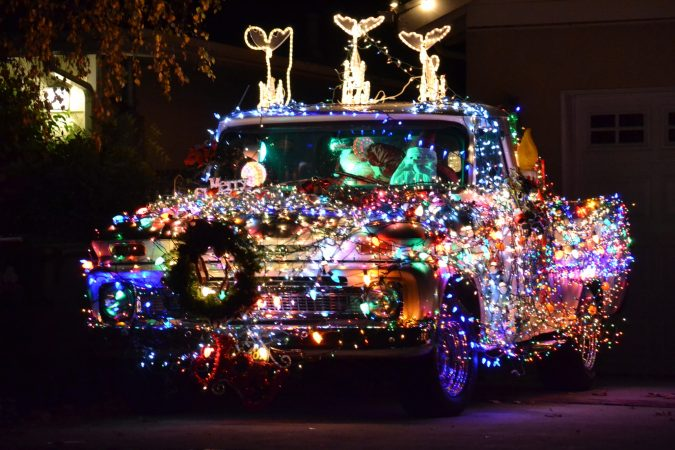 christmas-lights-truck-675x450 Top 10 Outdoor Christmas Light Ideas for 2018