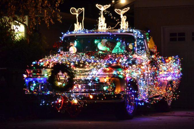 christmas-lights-truck-675x450 Top 10 Outdoor Christmas Light Ideas for 2020