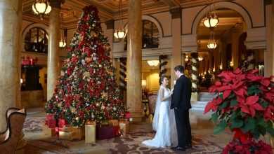Photo of 8 Festive Tips for a Christmas-Themed Wedding