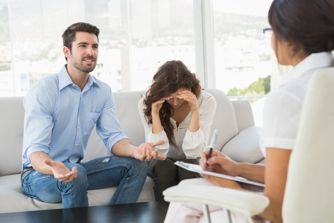 couple-with-a-professional-counselor-675x450 Dr. Mark Schwartz's Harmony Place Offers Best Treatment of Bipolar Disorder