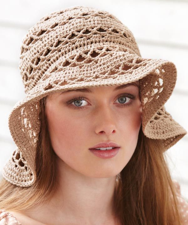 crochet-summer-hat-for-women 8 Catchy Hat Trends for Men & Women in Summer 2018