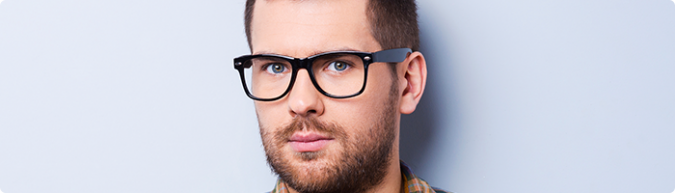 eyeglasses-with-a-blue-color-frame-675x193 How to Pick Up Fashionable Glasses Exactly According to Your Unique Taste?