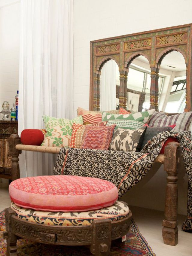 floor-cushions Top 10 Indian Interior Design Trends for 2018