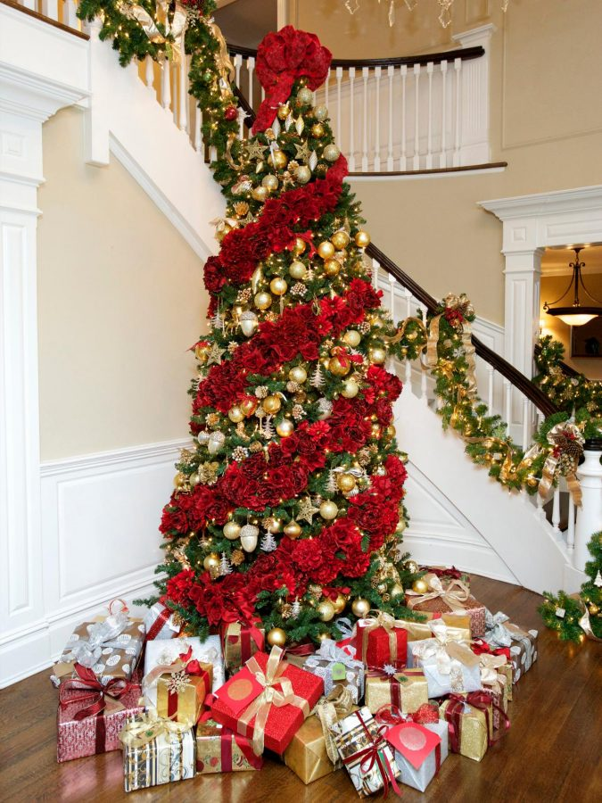 floral-christmas-tree-2-675x900 Top 10 Christmas Decoration Ideas & Trends 2019/2020