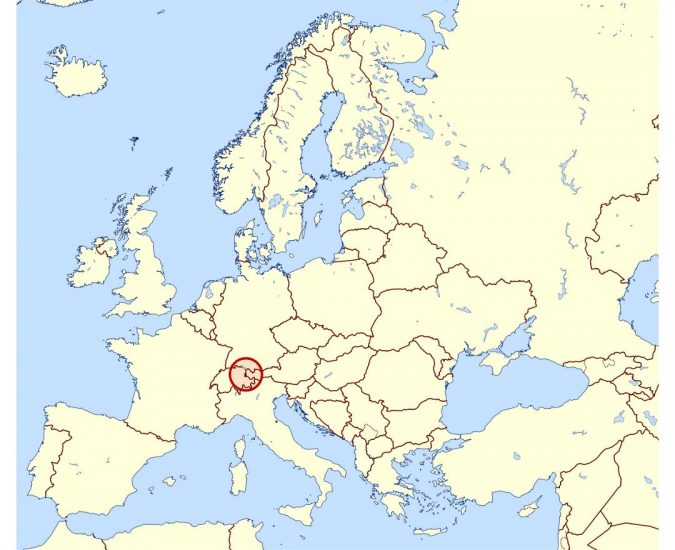 large-location-map-of-liechtenstein-in-europe-675x550 Top 5 Debt-Free Countries in The World!