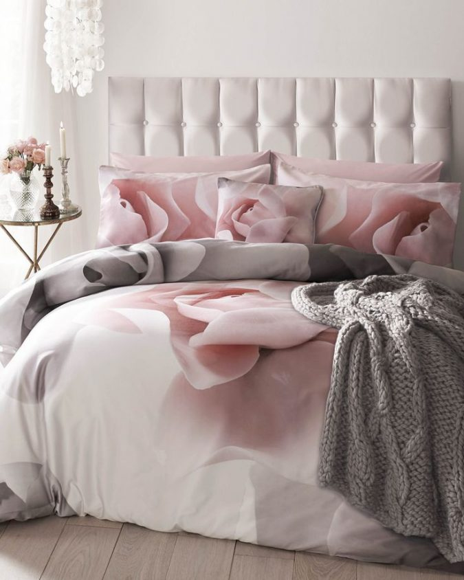 linen-bedroom-pink-bedding-675x844 Top 10 Best Summer Decor Ideas for 2018