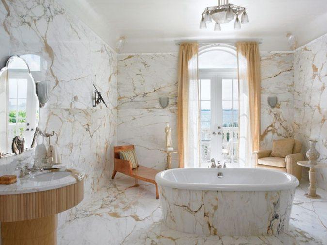 Marble Bathroom Ideas To Create A Luxurious Scheme: Top 10 Master Bathrooms Design Ideas For 2018