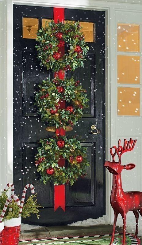 outdoor-Christmas-decoration-10 91+ Adorable Outdoor Christmas Decoration Ideas in 2020