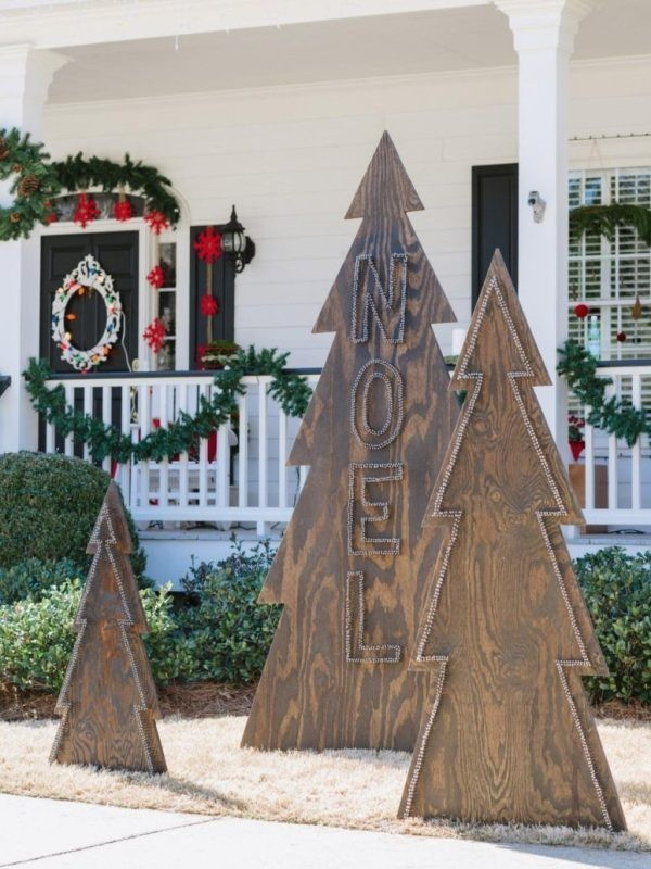 outdoor-Christmas-decoration-104 91+ Adorable Outdoor Christmas Decoration Ideas 2018