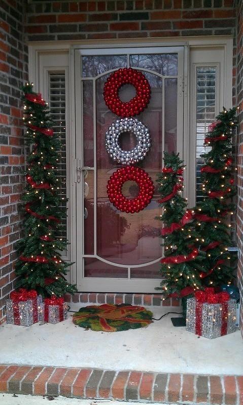 outdoor-Christmas-decoration-11 91+ Adorable Outdoor Christmas Decoration Ideas in 2020