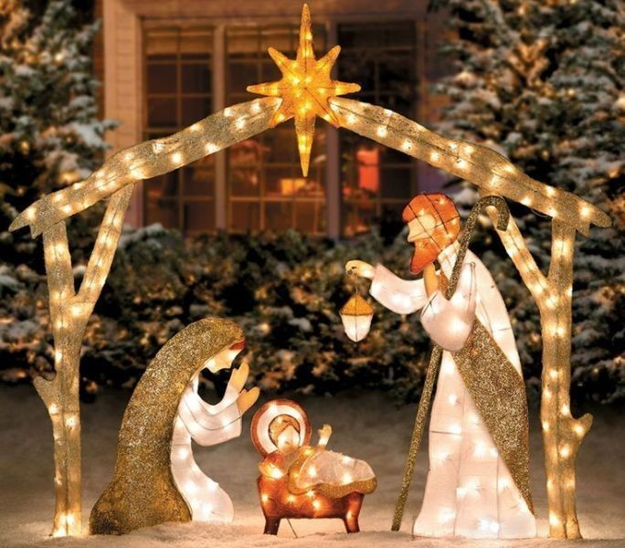 outdoor-Christmas-decoration-118 91+ Adorable Outdoor Christmas Decoration Ideas 2018
