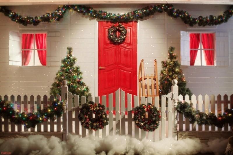 outdoor-Christmas-decoration-126 91+ Adorable Outdoor Christmas Decoration Ideas in 2020