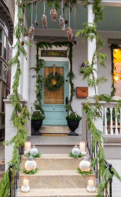 outdoor-Christmas-decoration-13 91+ Adorable Outdoor Christmas Decoration Ideas in 2020