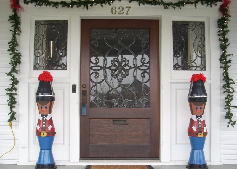 outdoor-Christmas-decoration-130 91+ Adorable Outdoor Christmas Decoration Ideas in 2020