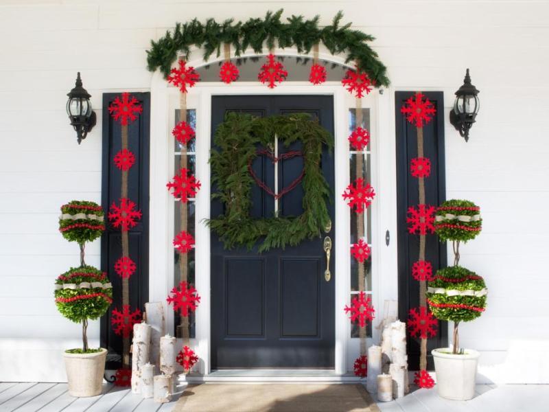 outdoor-Christmas-decoration-133 91+ Adorable Outdoor Christmas Decoration Ideas in 2020