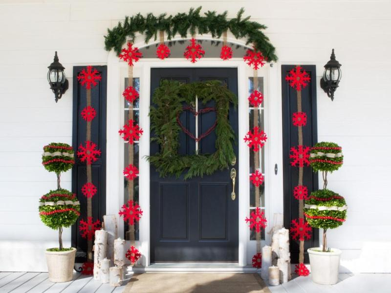 outdoor-Christmas-decoration-133 91+ Adorable Outdoor Christmas Decoration Ideas 2018