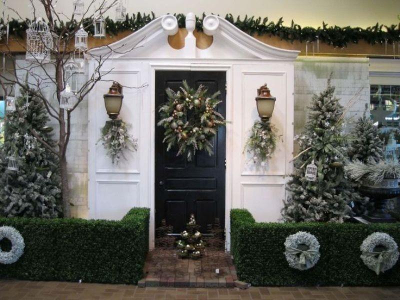 outdoor-Christmas-decoration-135 91+ Adorable Outdoor Christmas Decoration Ideas in 2020