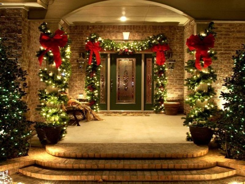 outdoor-Christmas-decoration-136 91+ Adorable Outdoor Christmas Decoration Ideas 2018