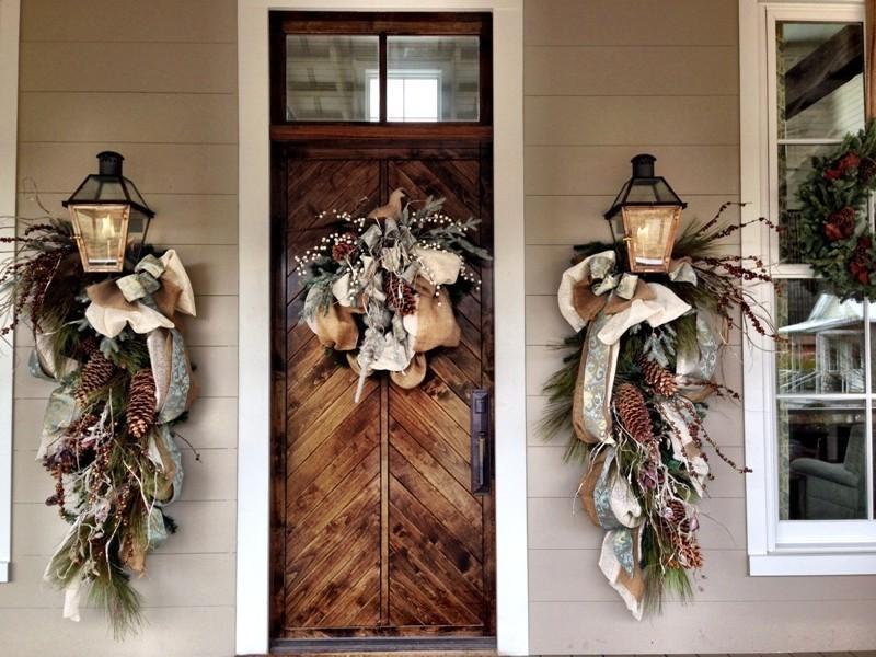 outdoor-Christmas-decoration-138 91+ Adorable Outdoor Christmas Decoration Ideas in 2020