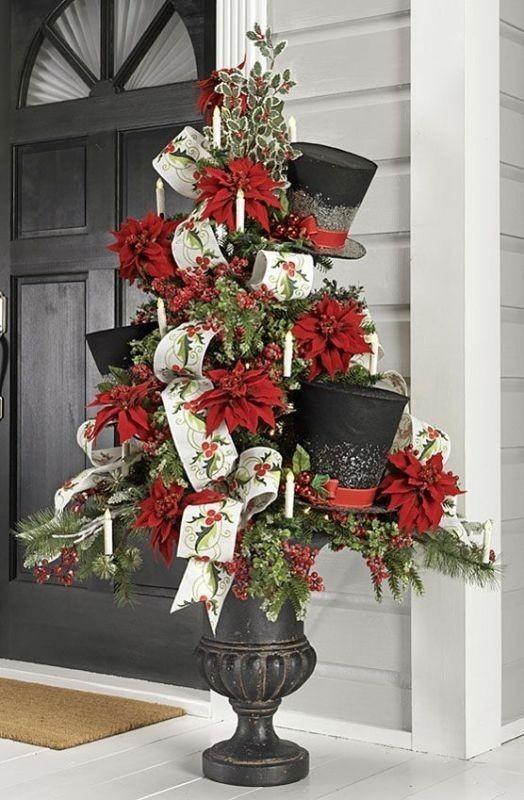 outdoor-Christmas-decoration-17 91+ Adorable Outdoor Christmas Decoration Ideas in 2020