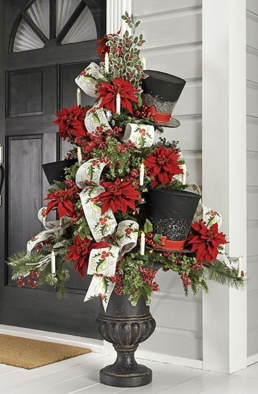 outdoor-Christmas-decoration-17 91+ Adorable Outdoor Christmas Decoration Ideas 2018