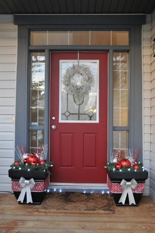 outdoor-Christmas-decoration-19 91+ Adorable Outdoor Christmas Decoration Ideas in 2020