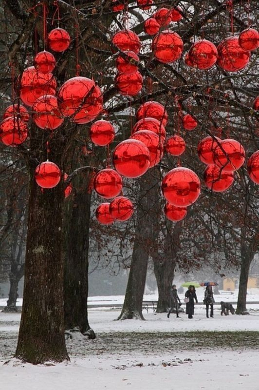 outdoor-Christmas-decoration-23 91+ Adorable Outdoor Christmas Decoration Ideas in 2020