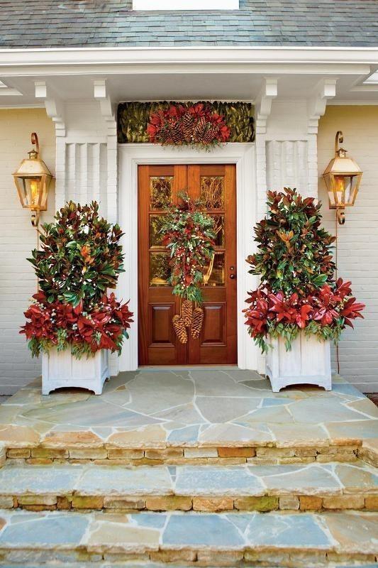 outdoor-Christmas-decoration-25 91+ Adorable Outdoor Christmas Decoration Ideas in 2020
