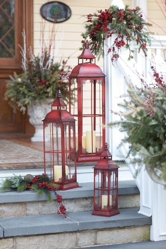 outdoor-Christmas-decoration-26 91+ Adorable Outdoor Christmas Decoration Ideas in 2020