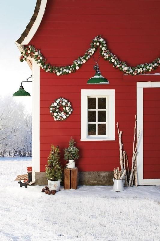 outdoor-Christmas-decoration-30 91+ Adorable Outdoor Christmas Decoration Ideas in 2020