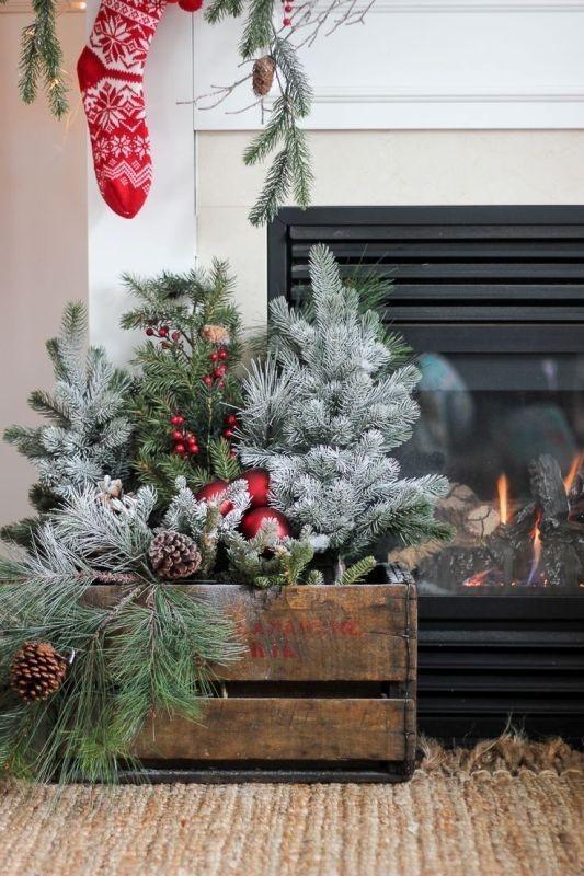 outdoor-Christmas-decoration-31 91+ Adorable Outdoor Christmas Decoration Ideas in 2020