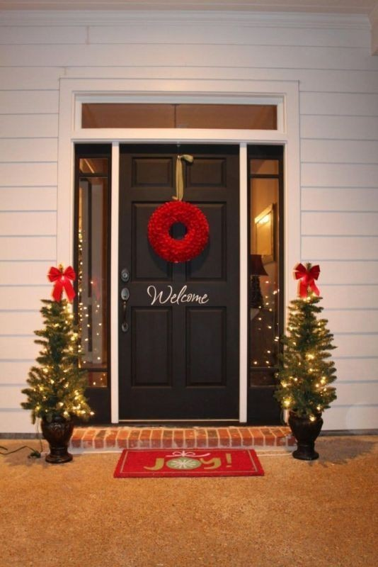 outdoor-Christmas-decoration-36 91+ Adorable Outdoor Christmas Decoration Ideas in 2020