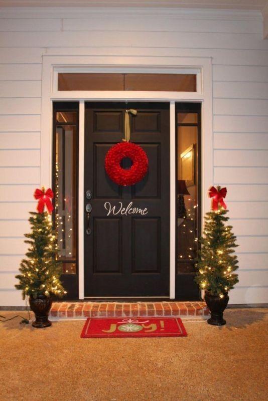 outdoor-Christmas-decoration-36 91+ Adorable Outdoor Christmas Decoration Ideas in 2021/2022
