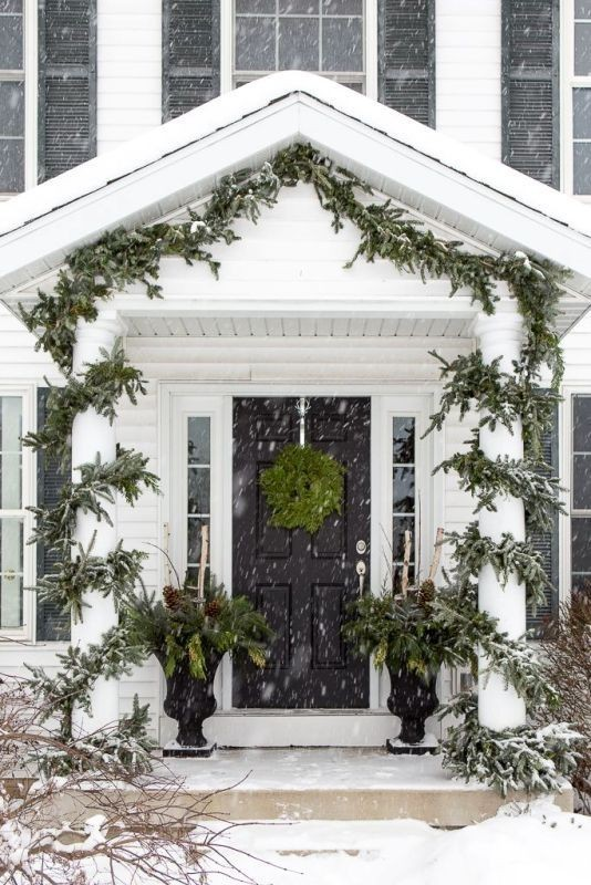 outdoor-Christmas-decoration-37 91+ Adorable Outdoor Christmas Decoration Ideas 2018