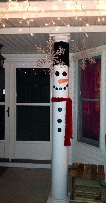 outdoor-Christmas-decoration-4 91+ Adorable Outdoor Christmas Decoration Ideas in 2020