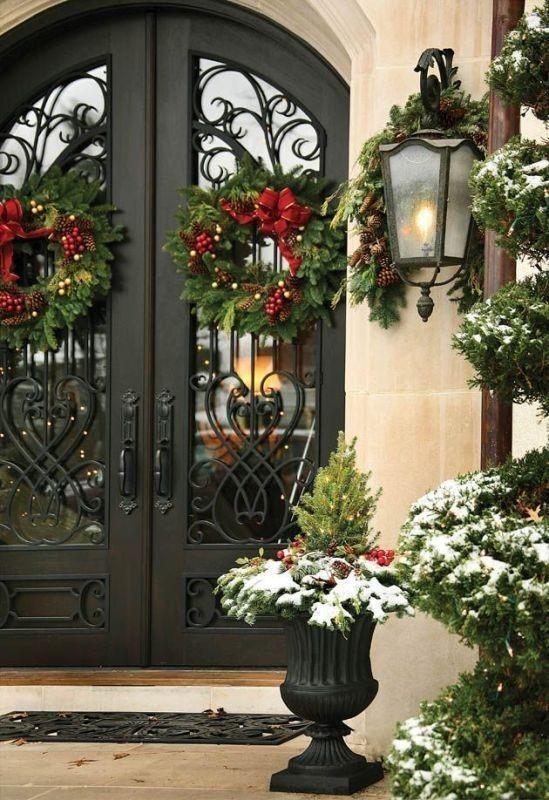 outdoor-Christmas-decoration-43 91+ Adorable Outdoor Christmas Decoration Ideas in 2020