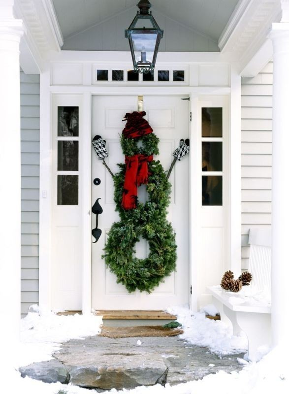 outdoor-Christmas-decoration-46 91+ Adorable Outdoor Christmas Decoration Ideas in 2020