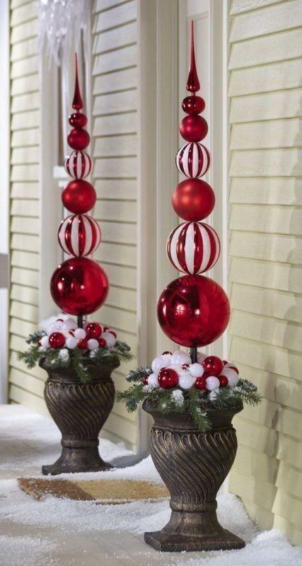 outdoor-Christmas-decoration-5 91+ Adorable Outdoor Christmas Decoration Ideas in 2020