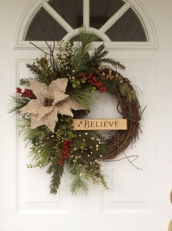outdoor-Christmas-decoration-51 91+ Adorable Outdoor Christmas Decoration Ideas in 2020