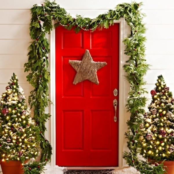 outdoor-Christmas-decoration-54 91+ Adorable Outdoor Christmas Decoration Ideas 2018